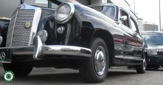 1957 Mercedes 219 'Ponton' Saloon For Sale