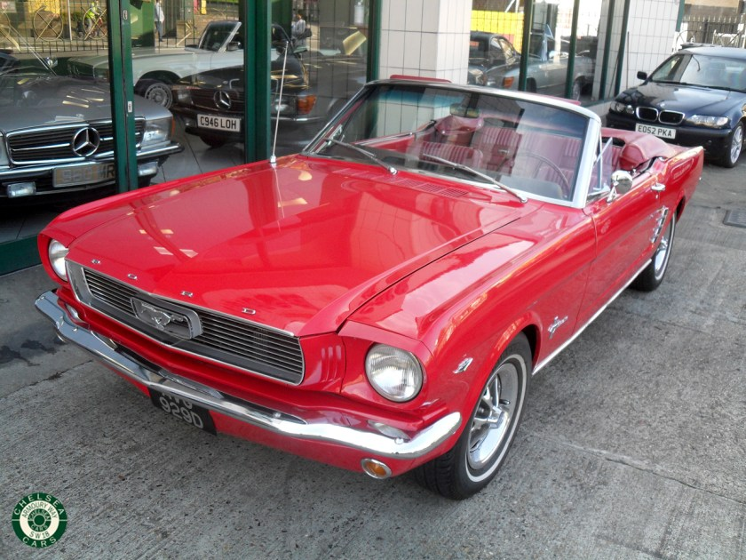 Photo 1966 Ford Mustang Convertible For Sale