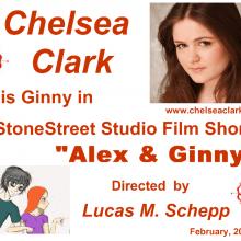 "Promo Postcards - Chelsea Clark in ""Alex & Ginny"""
