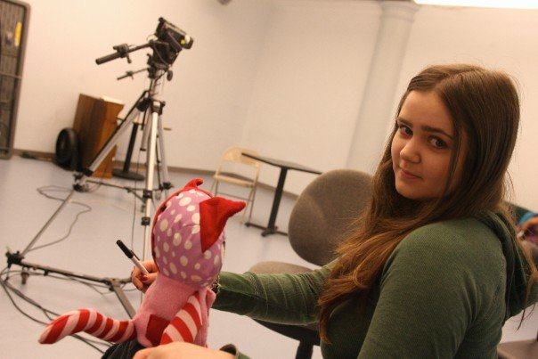 Chelsea Clark at The School for Film & Television