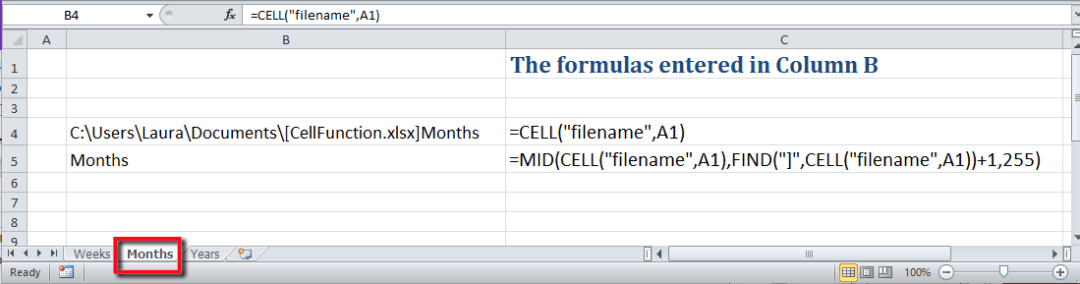 How Do I Print Tab Sheet Name In Excel Cell Wyzant Ask An Expert