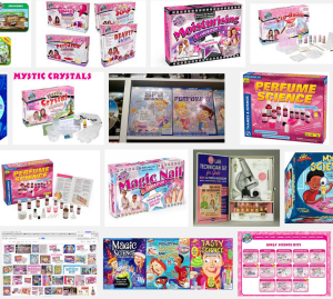 google science kits for girls