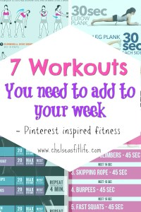 I have tried all of these workouts and they are amazing!