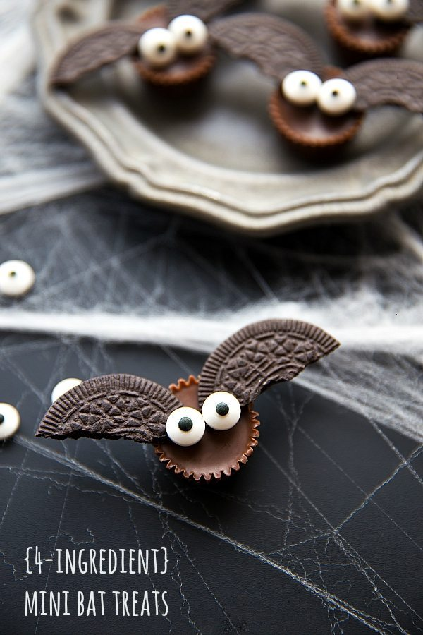 Mini Chocolate Bats, by Chelsea's Messy Apron