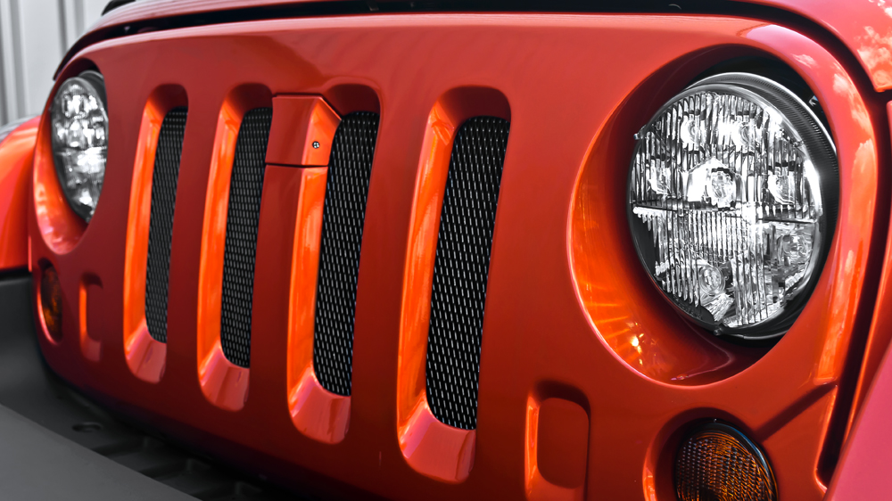 Front Grille Industrial Mesh