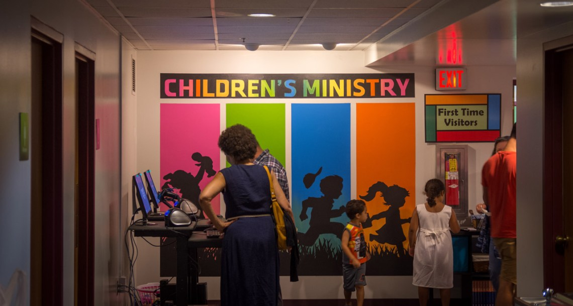 Children's Ministry Check-in