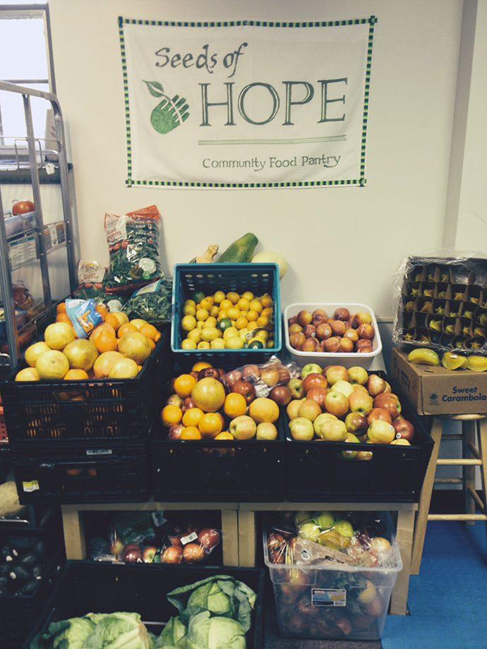Seeds of Hope produce