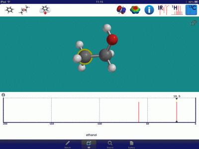 iSPartan-Ethanol-13CNMR