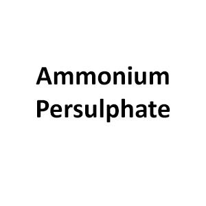 Ammonium Persulphate (APS) - Importers & Suppliers of