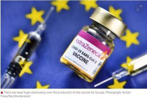 유럽 약국, 화이자 및 모데 네르의 AstraZeneca 백신 전면 승인
