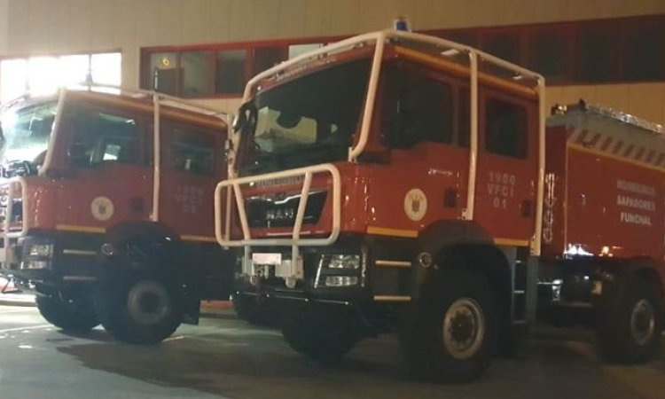 Plastic Fire Engine Bodies enter service in Funchal, Madeira