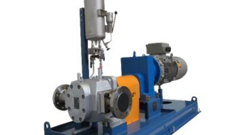 Pump system for polymerization process