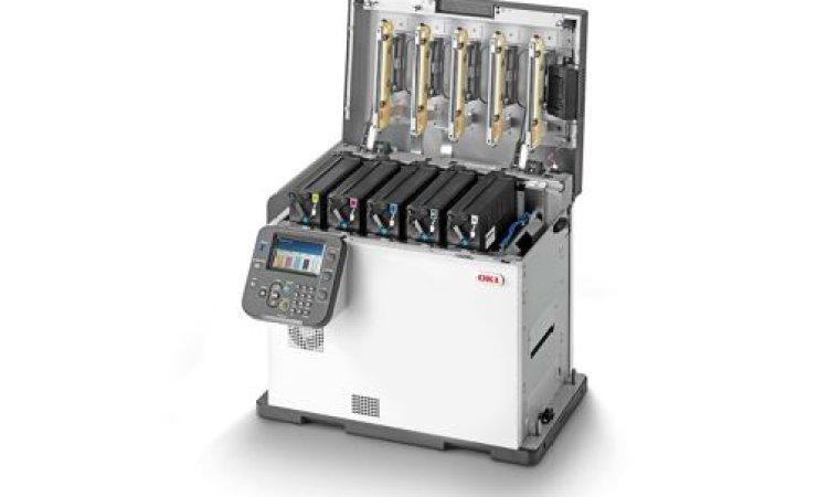 The OKI PRO1040 Label Printer