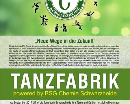 Start Tanzfabrik