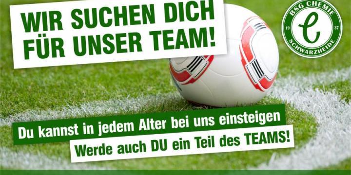 Wir suchen Dich für unser Team!