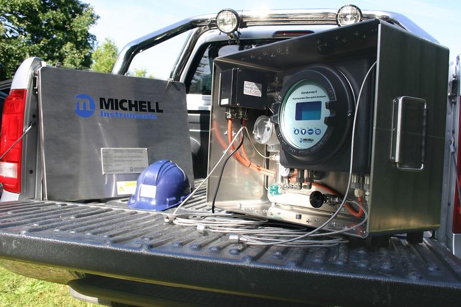 WasserstoffH2: Wasserstofftaugliche Erdgas-feuchtanalysatoren.