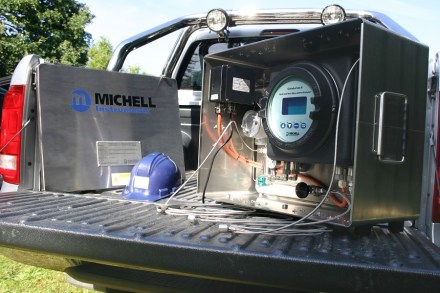 Wasserstofftaugliche Erdgas-Feuchteanalysatoren