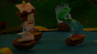 Des bateaux