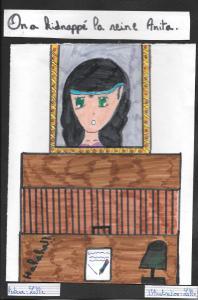 La reine Anita a disparu, par Lallie
