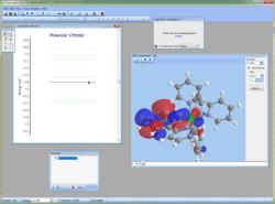 Viewing molecular orbital surfaces