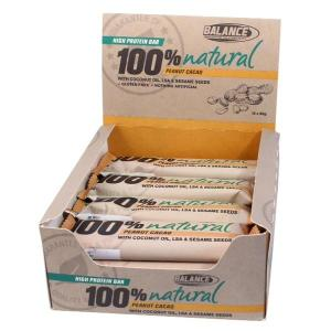 Balance 100% Natural Protein Bar 60g (Box of 12)