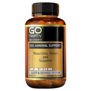 GO Healthy Go Adrenal Support 120 vegecaps