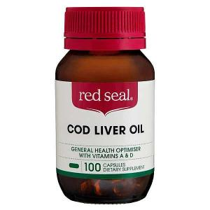 Red Seal Cod Liver Oil 275mg 100 capsules