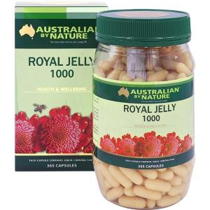 Australian By Nature Royal Jelly 1000mg 365 Capsules