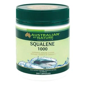 Australian By Nature Squalene 1000mg 200 Capsules