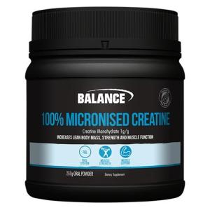 Balance 100% Pure Micronised Creatine 250g