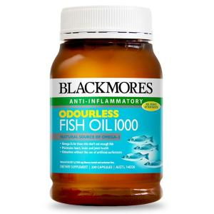 Blackmores Odourless Fish Oil 1000 200 Capsules