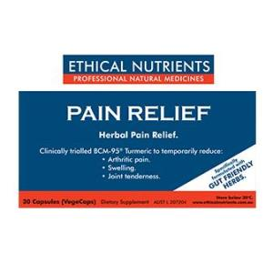 Ethical Nutrients Pain Relief 30 Capsules