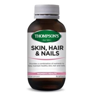 Skin, Hair and Nails 90 Capsules – Thompsons