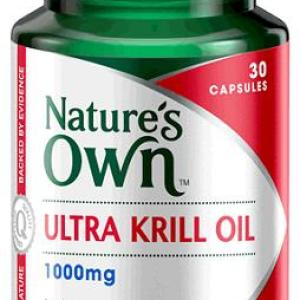 Krill Oil 1000mg 30 Capsules – Natures Own