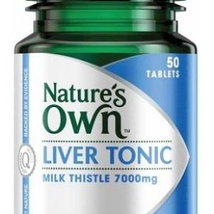 Liver Tonic 50 Tablets – Natures Own