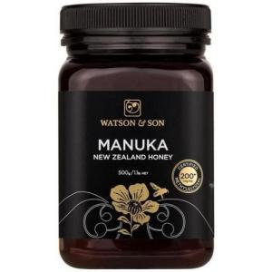 200+ MGO 500g Black Label Manuka Honey – Watson & Son