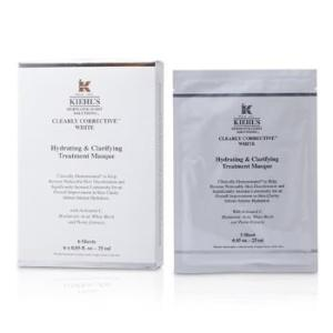 Kiehl's Clearly Corrective White Hydrating & Clarifying Treatment Masque (6 Sheets) 6x25ml/0.85oz Skincare