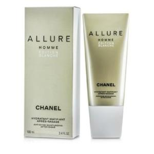 Chanel Allure Homme Edition Blanche Anti-Shine Moisturizing After Shave Cream (Made in USA) 100ml/3.4oz Men's Fragrance
