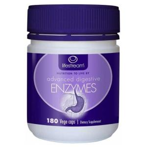 Advanced Digestive Enzymes 180 Capsules – Lifestream