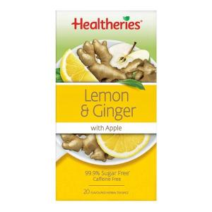 Healtheries Lemon, Ginger & Apple Tea 20 teabags