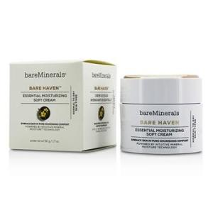 BareMinerals Bare Haven Essential Moisturizing Soft Cream – Normal To Dry Skin Types 50g/1.7oz Skincare