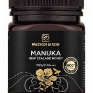 600+ MGO 250g Black Label Manuka Honey – Watson & Son