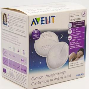 Avent Comfort Disposable Night Breast Pads X 20