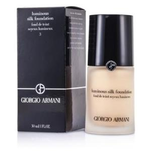 Giorgio Armani Luminous Silk Foundation – # 3 (Pale Peach) 30ml/1oz Make Up
