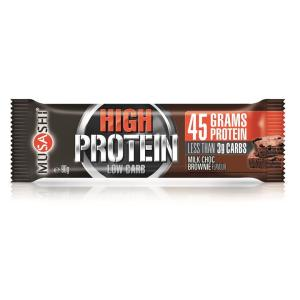 Musashi P45 High Protein Low Carb Bars 90g