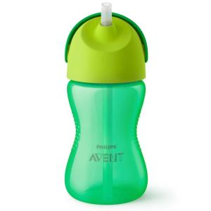 Avent Dinosaur Straw Cup 300ml (Assorted Colours)