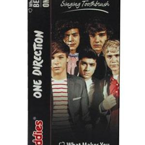 "Brush Buddies One Direction Singing Toothbrush ""What Makes You Beautiful & One Thing"""