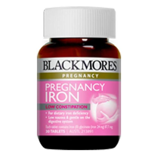 Blackmores Pregnancy Iron Tab X 30