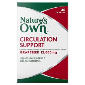 Nature's Own Circulation Support Cap X 30