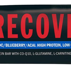 Swisse Active Recover Protein Bar Choc Blueberry Acai 30g X 12